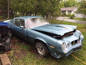 Parting out 1979 Camaro Z28