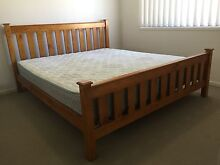 King size bed & mattress (Moving sale) Ellen Grove Brisbane South West Preview