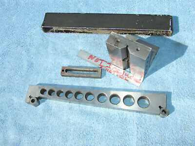 Angle Plate 1 Wclamp 10inch Sine Bar Toolmaker Machinist Made Mill Grind