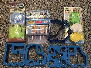Bento lunch accessories, picks, sandwich cutters. Brand new!