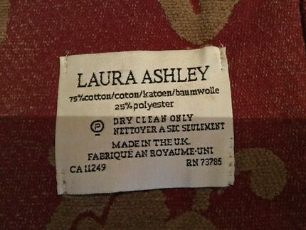 Laura Ashley throw blanket