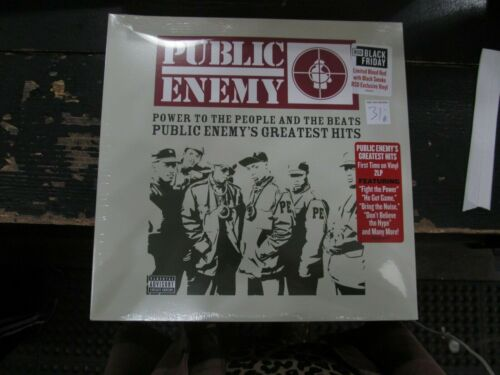 PUBLIC ENEMY Power To People & Beats Greatest Hits LP RSD Color VINYL Record NEW