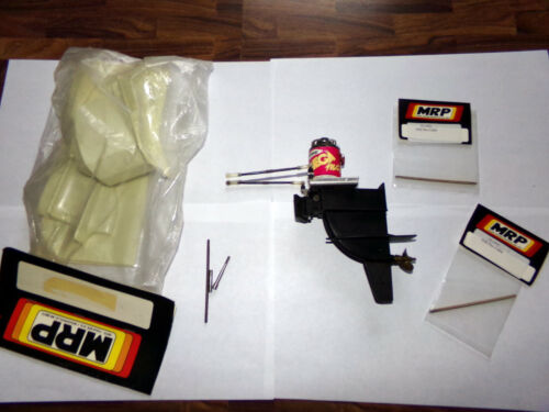 MRP 2ND GEN RARE MOLDED LOWER OUTBOARD, WITH MANY EXTRAS; SEE PICS!