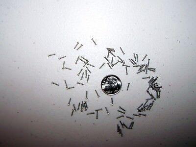 040r Trainhouseholdelectronics Lot Of 100 Tiny Machine Screws M1 X 6mm