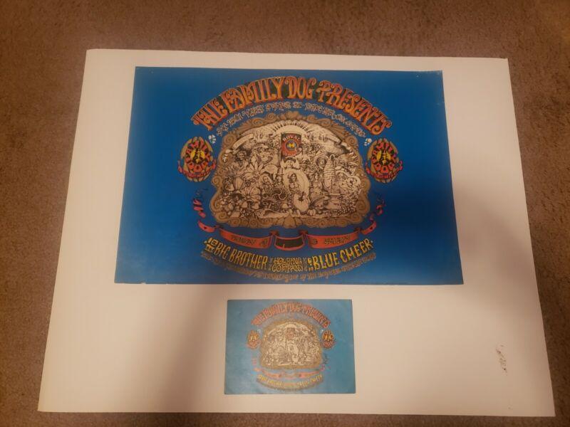 Family Dog FD-79 Denver opening poster and handbill