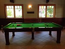 Heiron and Smith 3/4 vintage Pool Table Home Recreation LTD Henley Hunters Hill Area Preview