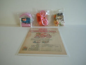 Rare Vintage Mail Order Hasbro Storykins Cinderella Sleeping Beauty Goldilocks