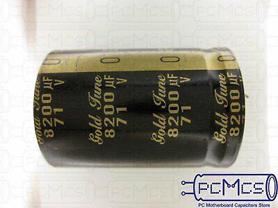 1 Pcs Of Nichicon 71v 8200uf Kg Type-i Gold Tune Audio Hi-fi Snap-in Capacitor