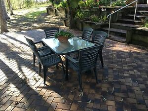 7 Piece Garden Setting North Tivoli Ipswich City Preview