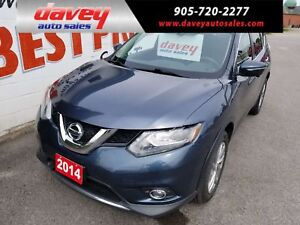 2014 Nissan Rogue SL AWD, LEATHER, NAVIGATION