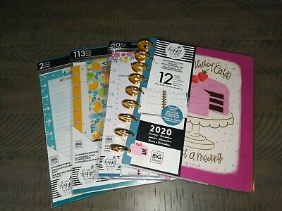 Happy Planner Lot Deluxe Happy Hostess Pack Dry Erase Board Stickers Paper