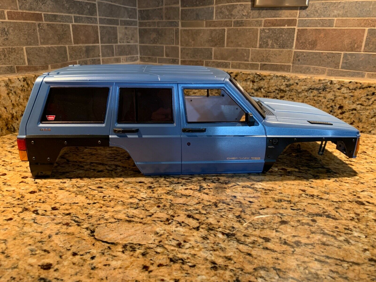 1/10 jeep hard body custom paint
