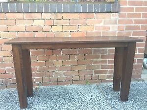 Timber hall table Botany Botany Bay Area Preview