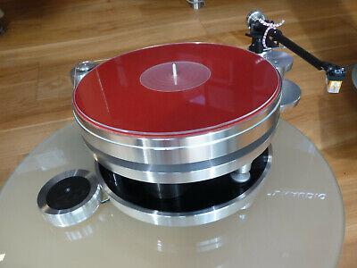 Acoustic Solid 111 Metall mit Aufrüstung/Tonarm WTB370/Ortofon 2MRed/Tonarmwaage