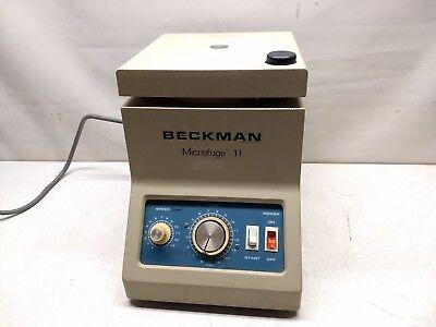 Beckman Microfuge 11 Bench Top Centrifuge D3