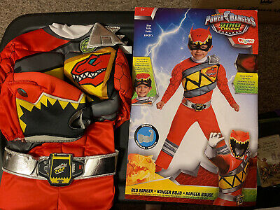 Power Rangers Dino Charge Costume Red Ranger S/P - Dino Ranger Kostüm