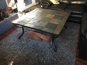 Square Coffee Table & matching Sofa Table