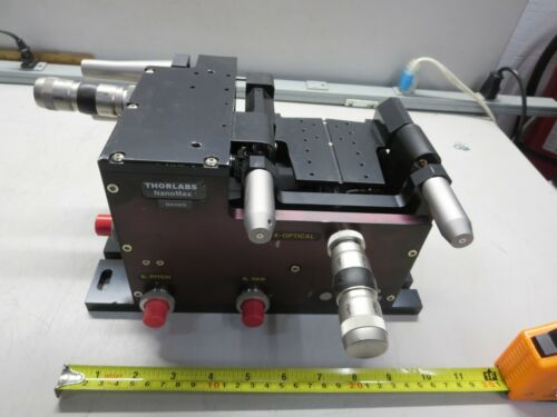 Thorlabs, MAX609, NanoMax Stage, 6 Axis, X/Y/Z/Pitch/Yaw/Roll, NO Actuators