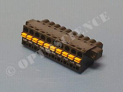 National Instruments Ni 9980 10-pos Spring Terminal Block For Cdaq Modules