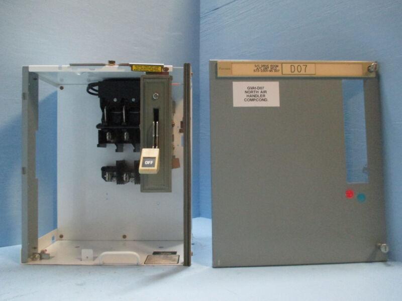 "Siemens Tiastar Furnas 89 100 Amp Fused Feeder 18"" MCC MCCB Bucket 100A Fusible"