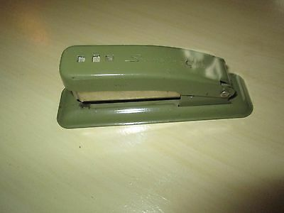 Vintage Green Swingline Cub Stapler Needs Staples