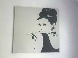 Cadre décoration Audrey Hepburn