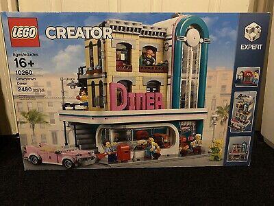 LEGO Creator Expert Downtown Diner 10260 Modular (SEALED)