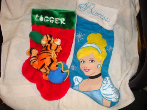 PAIR OF DISNEY CHRISTMAS STOCKINGS   #2001