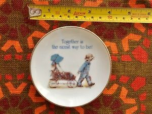 Holly Hobbie mini collector plate