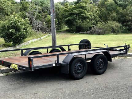 Car Trailer with ramps Curl Curl Manly Area Preview