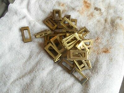 3 WW2 dated brass italian model 1891 1941 1938 carcanno stripper clips 6 rd