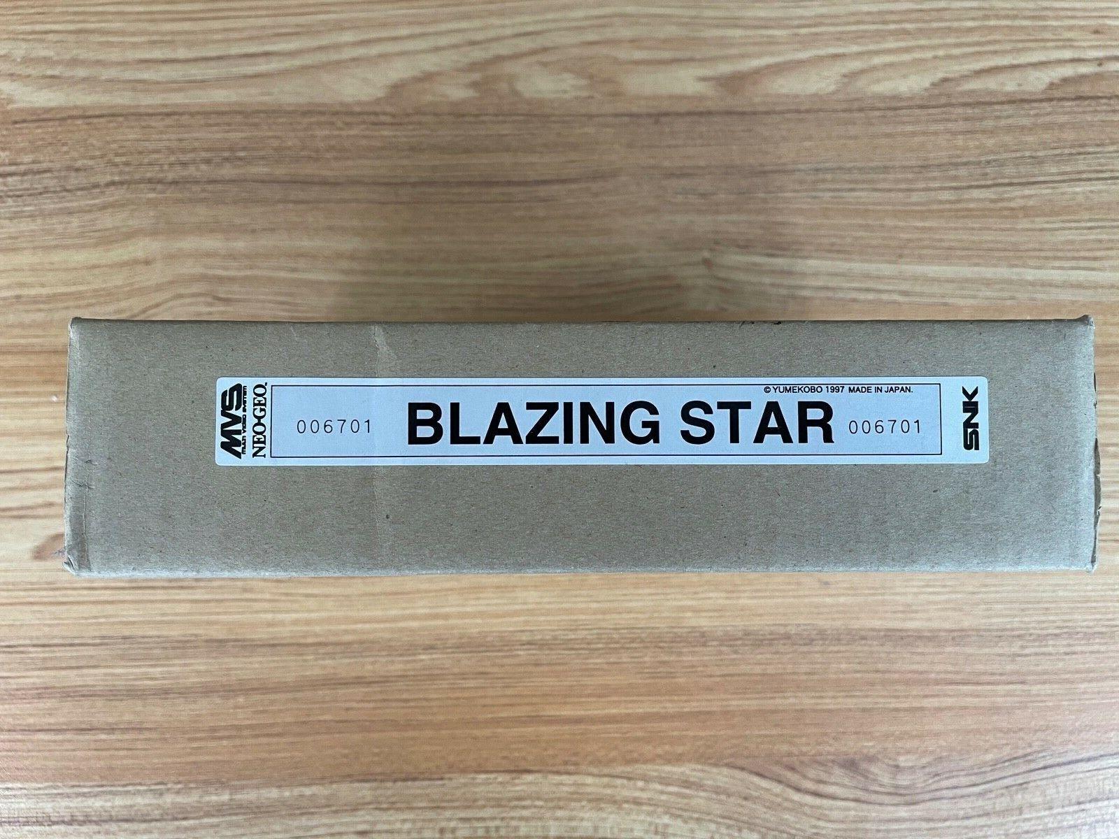 Blazing Star Neo-Geo MVS Full Kit matching serial 006701 WHAT YOU WAITING FOR?!