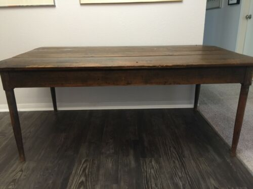 American Primative Farm Table (est. late 1890s to early 1900s)