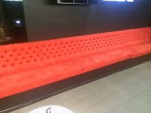 Red Velvet Bar Couch - Tables & Chair Brisbane City Brisbane North West Preview