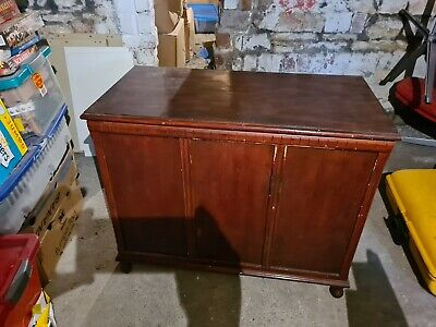 Antique Retro Vintage Coffer Bedding Blanket Chest box 1930's Style