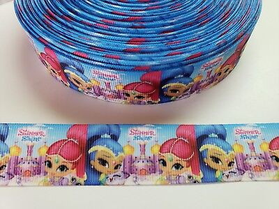 "5 Yards 1"" shimer and shine Grosgrain Ribbon Hair Bow Supplies. for sale  Perris"