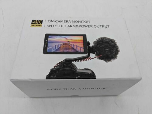 """Feelworld F6 5.7"""" IPS Full HD HDMI On-Camera LED Monitor with 4K Support CMS0321"""