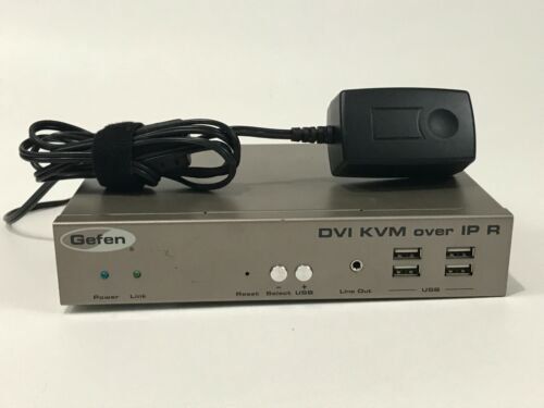 Gefen EXT-DVIKVM-LANR DVI KVM Over IP R (Receiver Only)