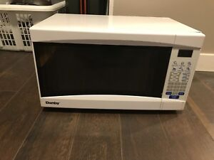 Danby White Microwave