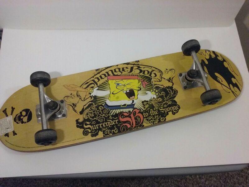Viacom Spongebob Skateboard 2008