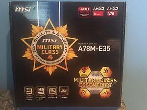 A78M-E35 Mini MoBo w/ CPU AMD A10-5800 Series
