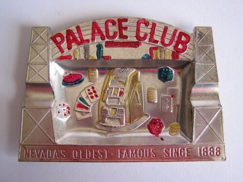 Palace Club Casino Reno Nevada Metal Ashtray
