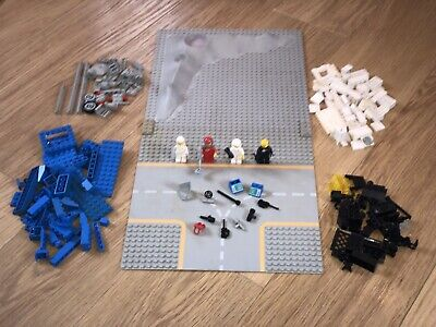 LEGO VINTAGE SPACE LUNAR SPARES ACCESSORIES MINI FIGURES BASE PLATES