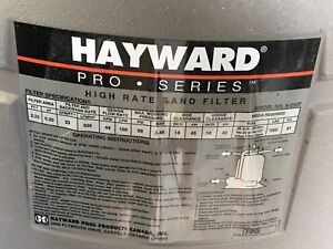 Hayward Pro Series (high rate sand filter)