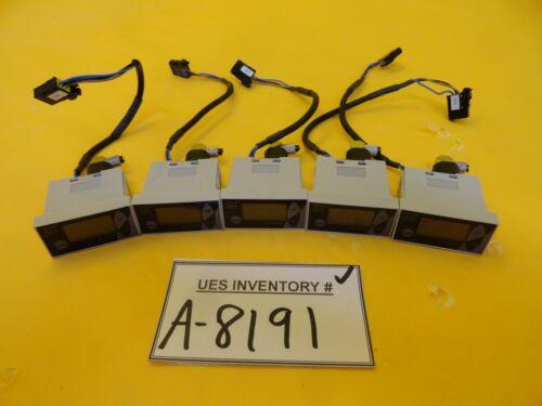 Sunx DP4-50Z Compact Digital Display Pressure Sensor DP4 Series Lot of 5 Used