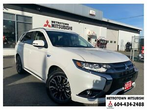 2018 Mitsubishi Outlander PHEV GT; Corporate Demo! Qualifies for