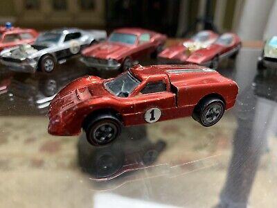Original Hot Wheels Redline Ford J Car Red