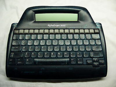 Alphasmart 3000 Portable Desktop Usb Word Processorprocessing System No Ac