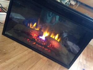 "26"" electric fireplace insert.  Need gone asap"