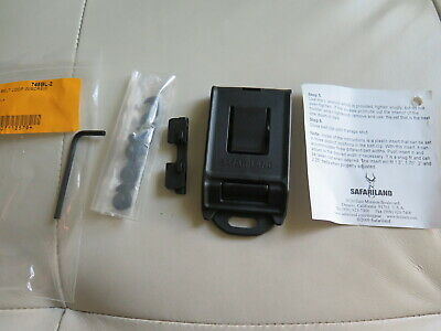 Safariland 745bl-2 Belt Clip For Duty Holsters Fits Belt 1.5 To 2.25